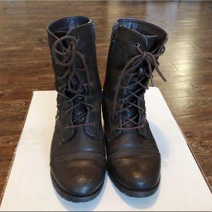 Agaci combat boots